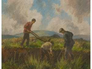 The Peat Cutters