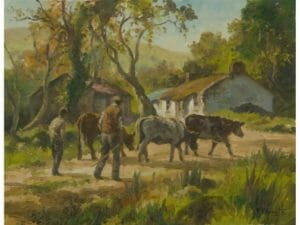 Bringing Home the Cattle