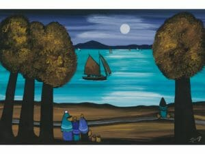 Watching the Moonlight Sailors