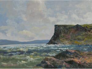 Winter Sea at Fair Head
